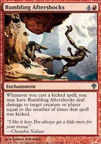 Rumbling Aftershocks [Worldwake] | Gamerz Cafe