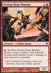 Grotag Siege-Runner [Rise of the Eldrazi] | Gamerz Cafe