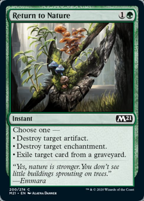 Return to Nature [Core Set 2021] | Gamerz Cafe