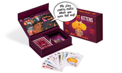 Exploding Kittens - Party Pack | Gamerz Cafe