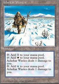 Adarkar Wastes [Ice Age] | Gamerz Cafe