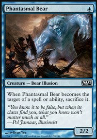 Phantasmal Bear [Magic 2012] | Gamerz Cafe