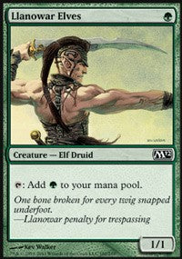 Llanowar Elves [Magic 2012] | Gamerz Cafe