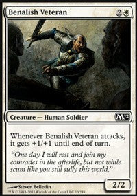 Benalish Veteran [Magic 2012] | Gamerz Cafe