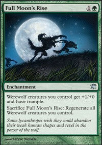 Full Moon's Rise [Innistrad] | Gamerz Cafe