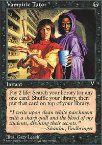 Vampiric Tutor [Visions] | Gamerz Cafe