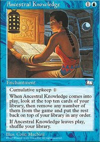 Ancestral Knowledge [Weatherlight] | Gamerz Cafe