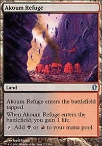 Akoum Refuge [Commander 2013] | Gamerz Cafe