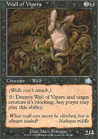 Wall of Vipers [Prophecy] | Gamerz Cafe