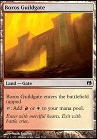 Boros Guildgate [Duel Decks: Heroes vs. Monsters] | Gamerz Cafe