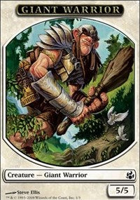 Giant Warrior Token [Morningtide Tokens] | Gamerz Cafe