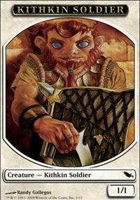 Kithkin Soldier Token [Shadowmoor Tokens] | Gamerz Cafe