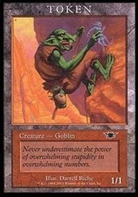 Goblin Token (Legions) [Magic Player Rewards 2003] | Gamerz Cafe