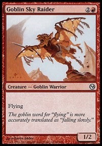 Goblin Sky Raider [Duels of the Planeswalkers] | Gamerz Cafe
