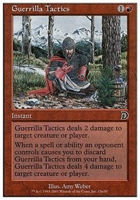 Guerrilla Tactics [Deckmasters] | Gamerz Cafe
