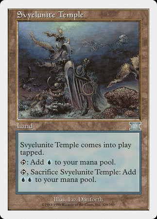 Svyelunite Temple [Classic Sixth Edition] | Gamerz Cafe