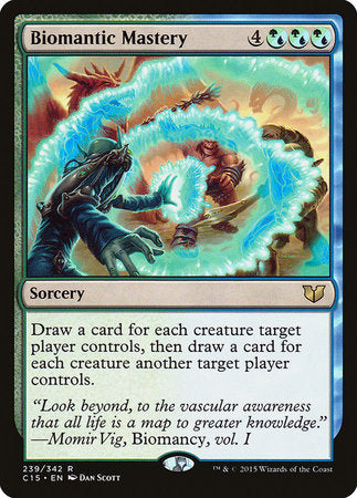 Biomantic Mastery [Commander 2015] | Gamerz Cafe