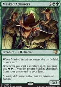 Masked Admirers [Commander 2014] | Gamerz Cafe