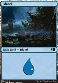 Island (322) [Commander 2014] | Gamerz Cafe