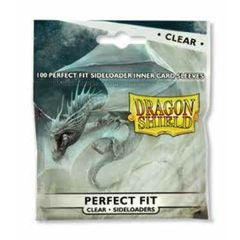 Dragon Shield Perfect Fit Side load 100ct : Clear | Gamerz Cafe