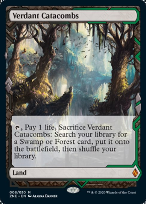 Verdant Catacombs [Zendikar Rising Expeditions] | Gamerz Cafe
