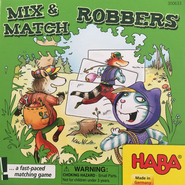 Mix And Match Robbers | Gamerz Cafe
