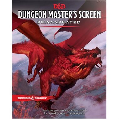 D&D Dungeon Master's Screen Reincarnated | Gamerz Cafe