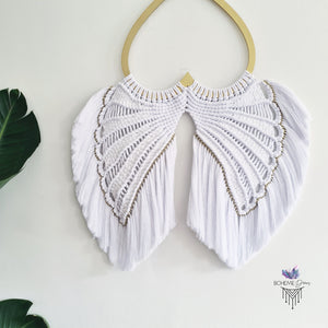 MACRAMÉ ANGEL WINGS