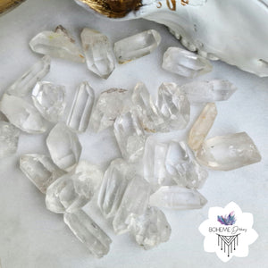 QUARTZ POINTS BAG OF 10