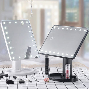 Mirrored Glow - LED Touch Screen Beauty Mirror