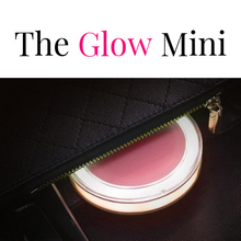 Load image into Gallery viewer, Mirrored Glow Mini - Compact LED Beauty Mirror