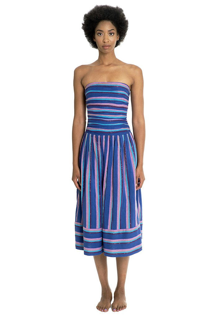 A Peace Treaty Jacara Ruched Dress - That Sunny Spot