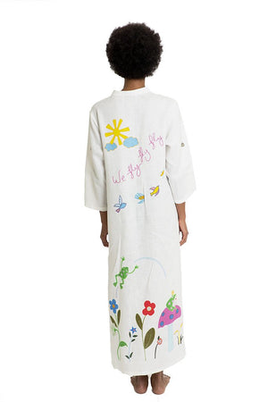 Mira Mikati Fly Fly Fly Fairytale Kaftan Dress - That Sunny Spot