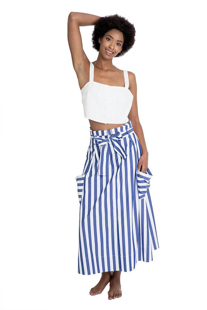 Whit Aster Crop Top & Pocket Skirt - That Sunny Spot
