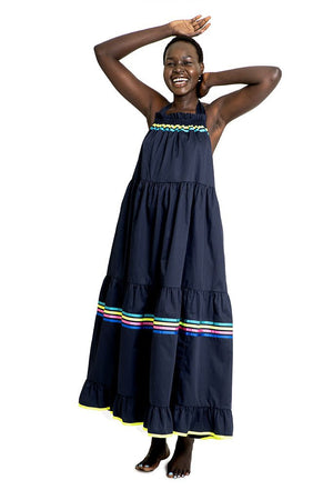 Mira Mikati Tie Shoulder Maxi Dress - That Sunny Spot