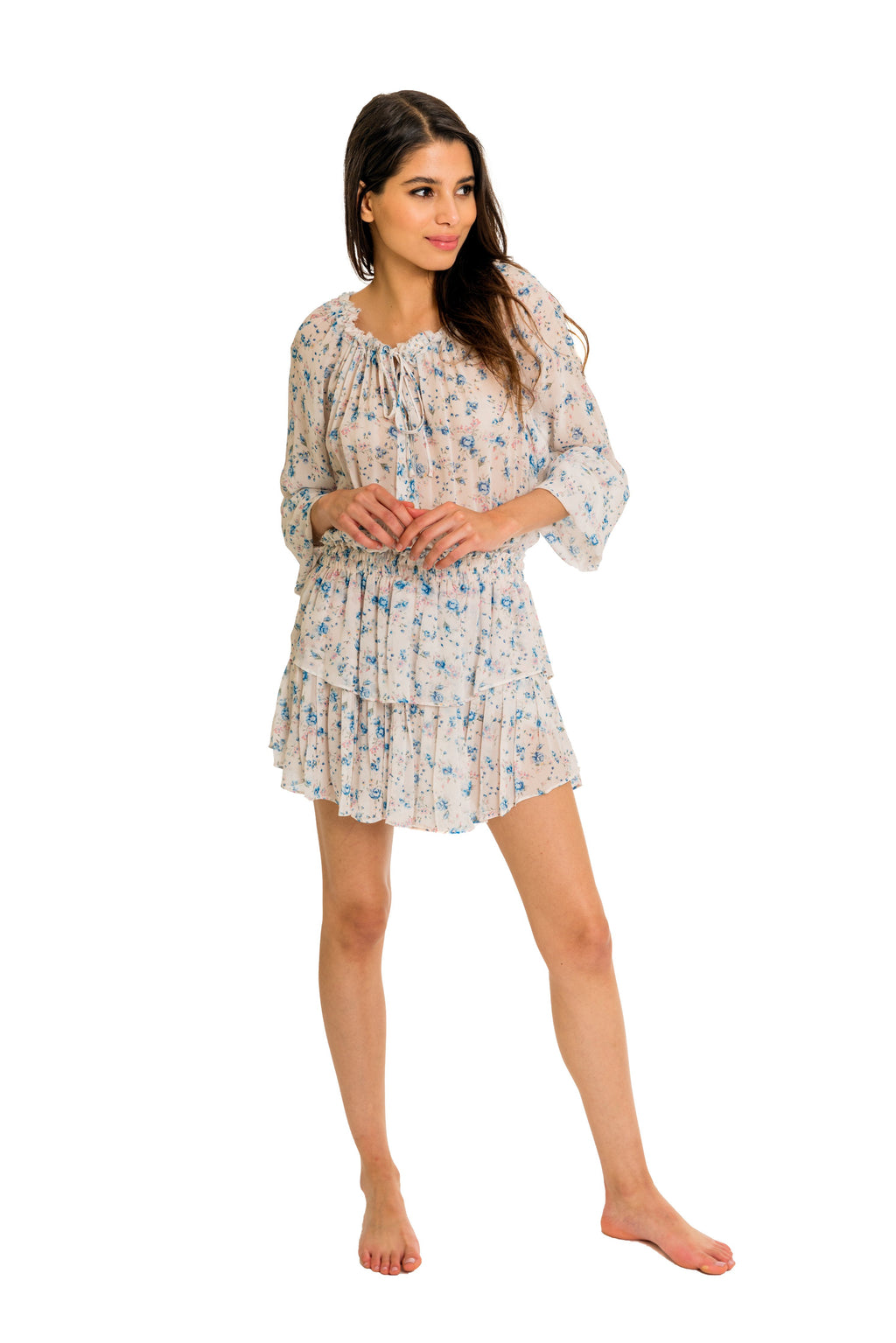 Love Shack Fancy Popover Dress - That Sunny Spot