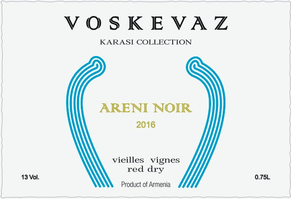 Voskevaz Karasi Collection Areni Noir 2016