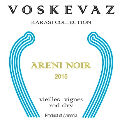 Voskevaz Karasi Collection Areni Noir 2015