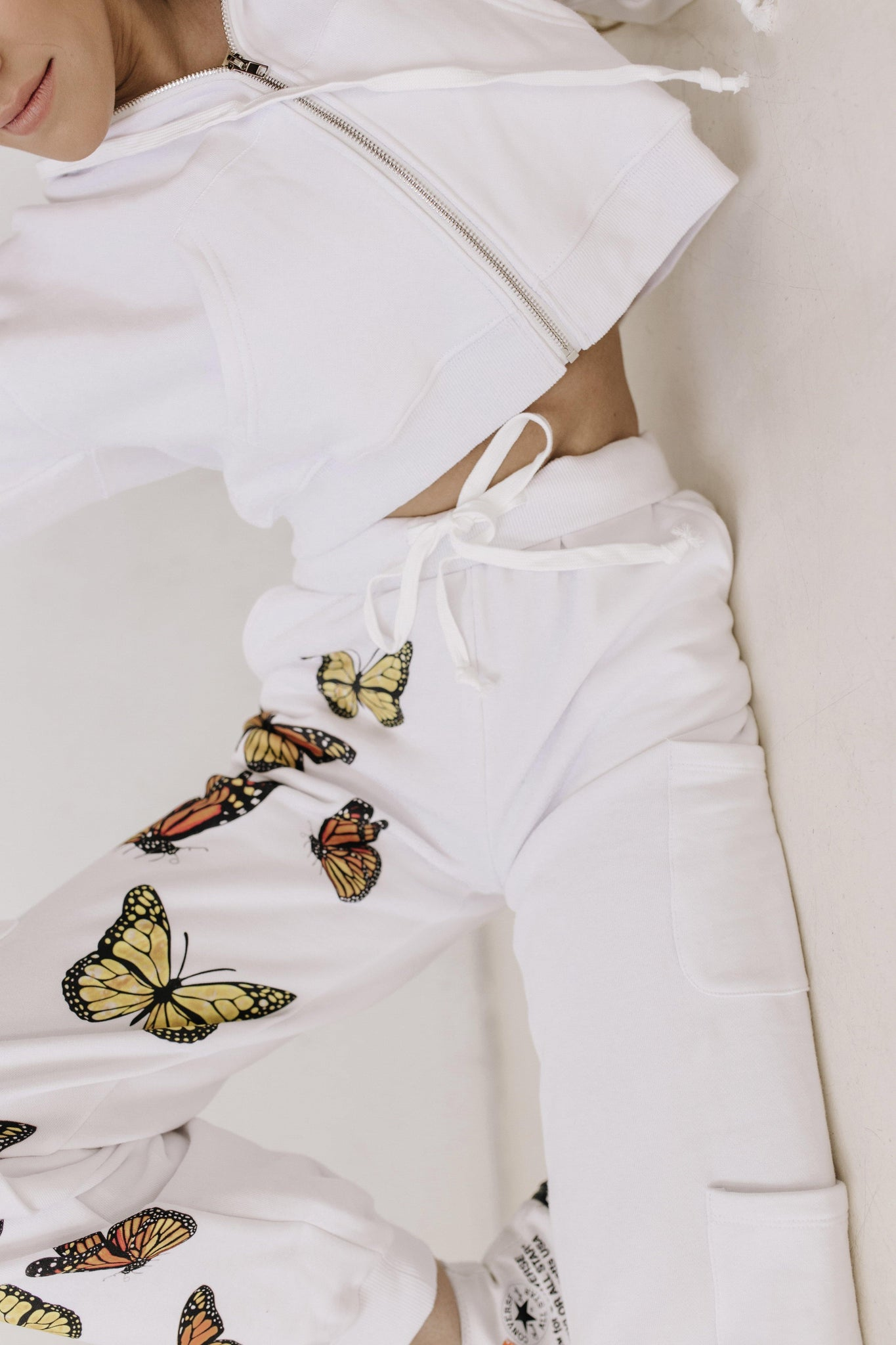 Winging It Butterfly Sweatpants