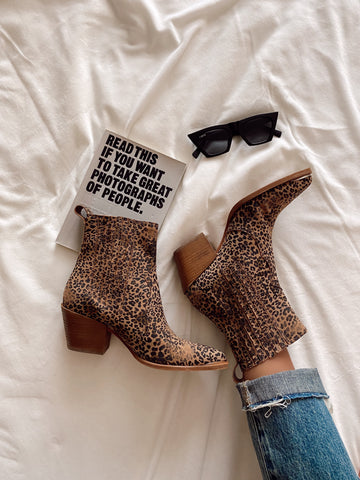 You Got It Girl Leopard Booties