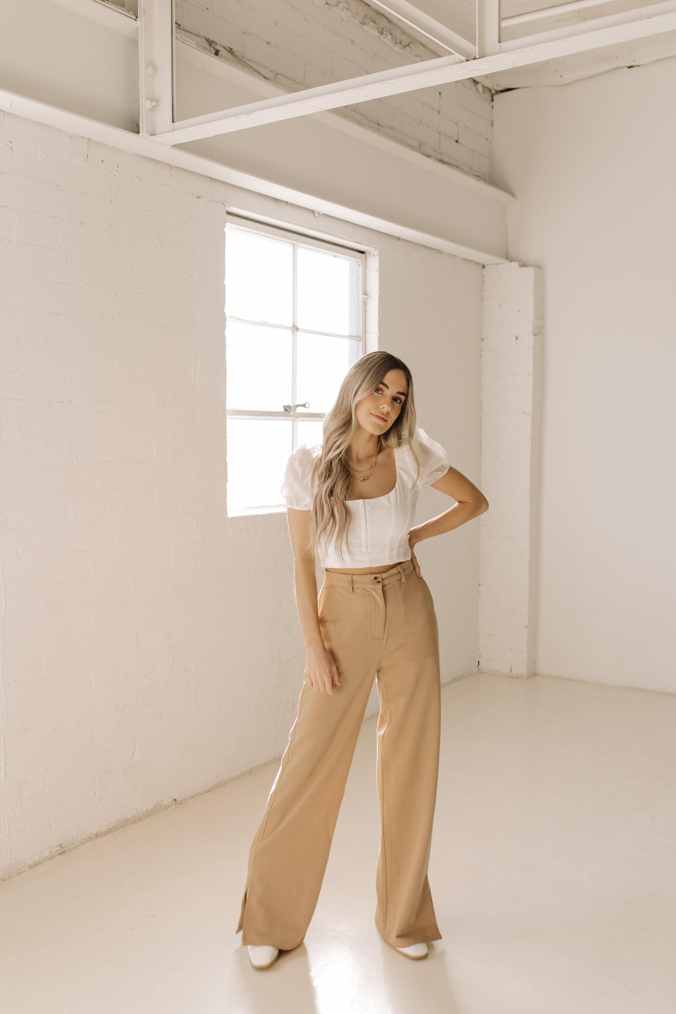 Caramel Latte Trousers