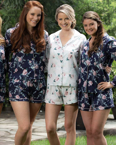 Pimlico Cotton Floral Long Sleeve PJ Set