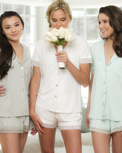 Kensington Jersey Lace PJ Set