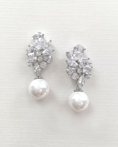 Vanessa Pearl Drop Earrings
