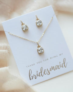 Ellen Bridesmaid Jewelry Set