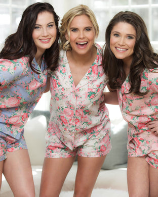 Chelsea Cotton Floral PJ Set