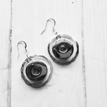 Load image into Gallery viewer, Silver-look Earrings