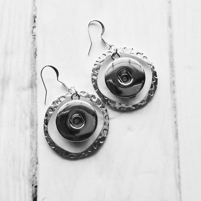Silver-look Earrings