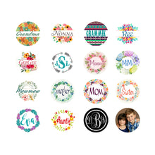 Load image into Gallery viewer, Custom Name or Monogram Snap Charm
