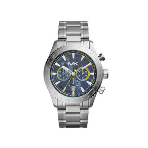 Michael Kors Men's Silver Color Stainless Steel Richardson Chronograph MK8351 Men's Watch